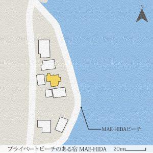 プライベートビーチのある宿